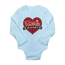 Favorite Aunt Red Baby Outfits