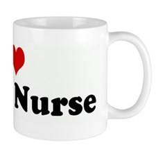 I Love my ER Nurse Mug