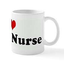 I Love my ER Nurse Mug