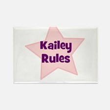 Kailey Rules Rectangle Magnet