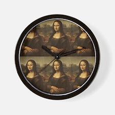 Vintage Mona Lisa Wall Clock