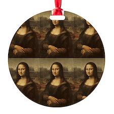 Vintage Mona Lisa Ornament