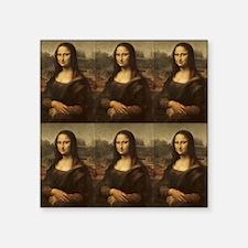 Vintage Mona Lisa Sticker