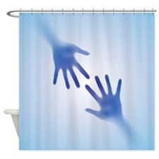Cold Hands Shower Curtain