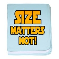Size matters not! baby blanket