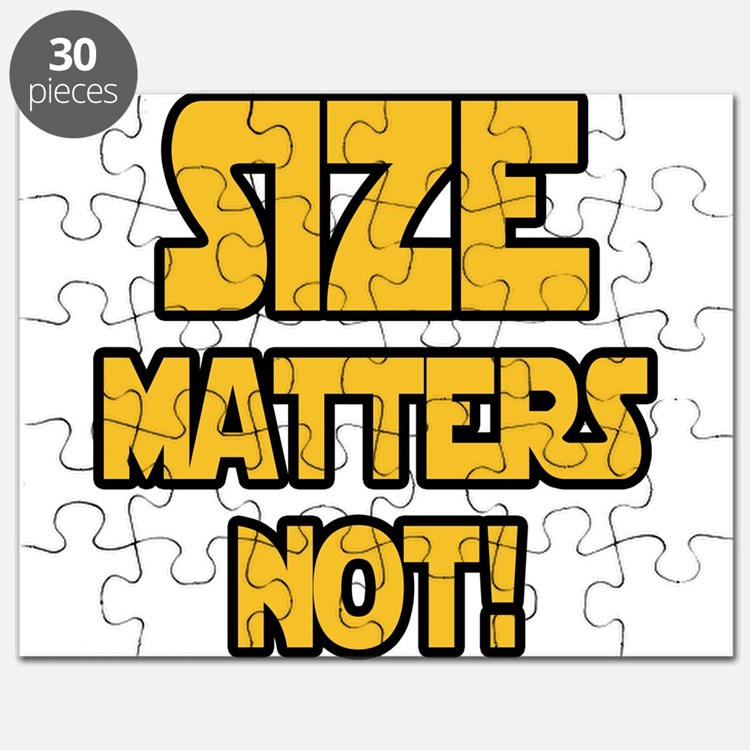 Size matters not! Puzzle