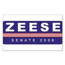 Support Kevin Zeese Rectangle Decal