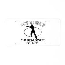 Jeet Kune Do the real sweet science Aluminum Licen