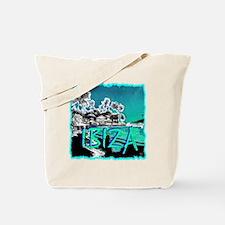 Ibiza island Tote Bag