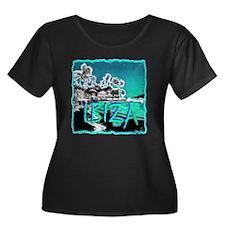 Ibiza island Plus Size T-Shirt