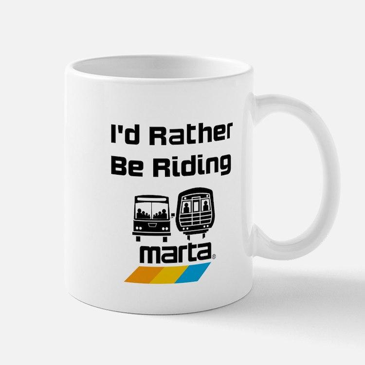 Id Rather Be Riding Marta Mug