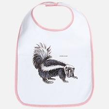 Striped Skunk Bib