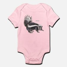 Striped Skunk Infant Bodysuit