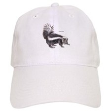 Striped Skunk Baseball Cap