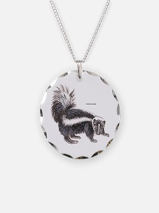 Striped Skunk Necklace