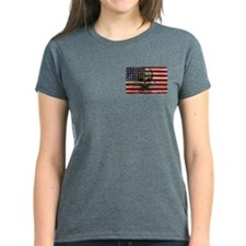 Flag-painted-American Pirate-2 T-Shirt