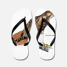 Red-Tailed Hawk Bird Flip Flops