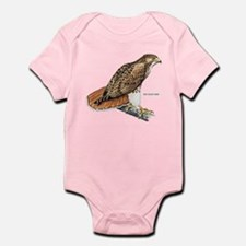 Red-Tailed Hawk Bird Infant Bodysuit