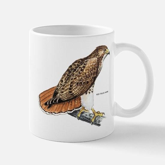 Red-Tailed Hawk Bird Mug