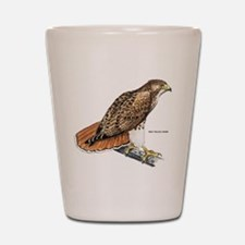 Red-Tailed Hawk Bird Shot Glass