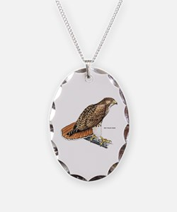 Red-Tailed Hawk Bird Necklace