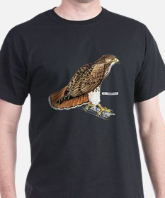 Red-Tailed Hawk Bird T-Shirt