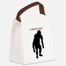 Mr. Yeti Canvas Lunch Bag