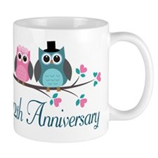 12th Wedding Anniversary Gift Mug