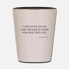 Dirty Feet Shot Glass