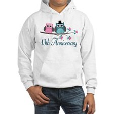 13th Wedding Anniversary Gift Hoodie
