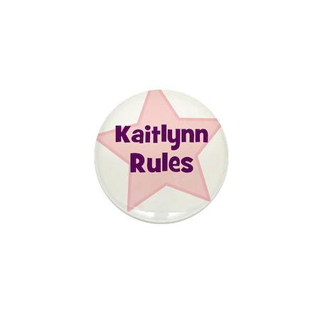 Kaitlynn Rules Mini Button (10 pack)