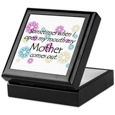My Mother Comes Out Keepsake Box