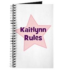 Kaitlynn Rules Journal