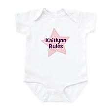 Kaitlynn Rules Infant Bodysuit
