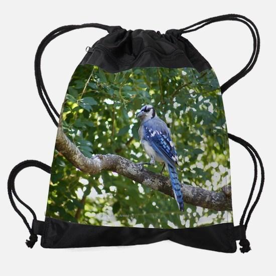 bjbranchB.png Drawstring Bag