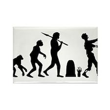 zombie_evolution Rectangle Magnet