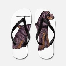 American Cocker Spaniel Dog Flip Flops
