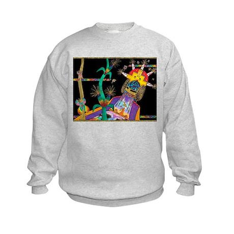 Beauty All Around Us Kids Sweatshirt