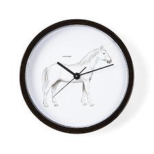 Lipizzaner Horse Wall Clock
