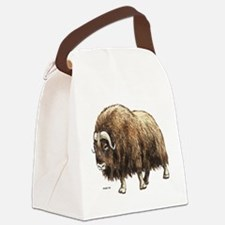 Musk Ox Canvas Lunch Bag
