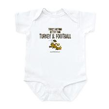 TURKEY & FOOTBALL Infant Bodysuit