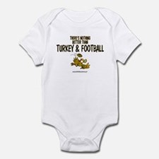 TURKEY & FOOTBALL Infant Bodysuit