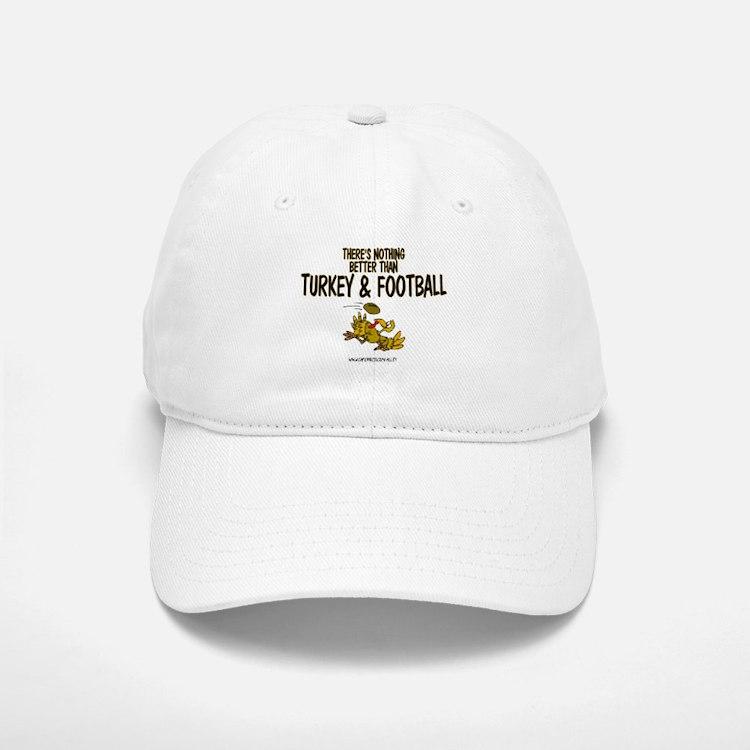 TURKEY & FOOTBALL Baseball Baseball Cap