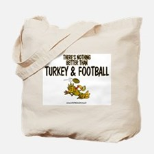 TURKEY & FOOTBALL Tote Bag