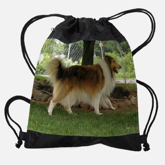 junclassicdog.png Drawstring Bag