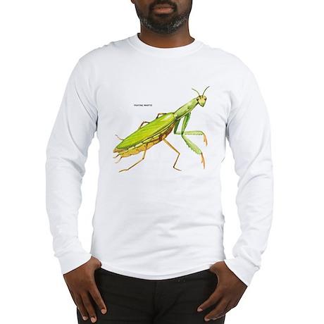 Praying Mantis Insect Long Sleeve T-Shirt
