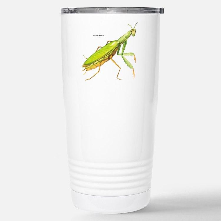 Praying Mantis Insect Travel Mug