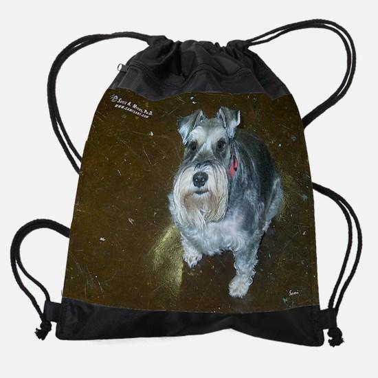 mayclassicdog.png Drawstring Bag