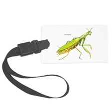 Praying Mantis Insect Luggage Tag