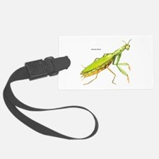 Praying Mantis Insect Luggage Tag